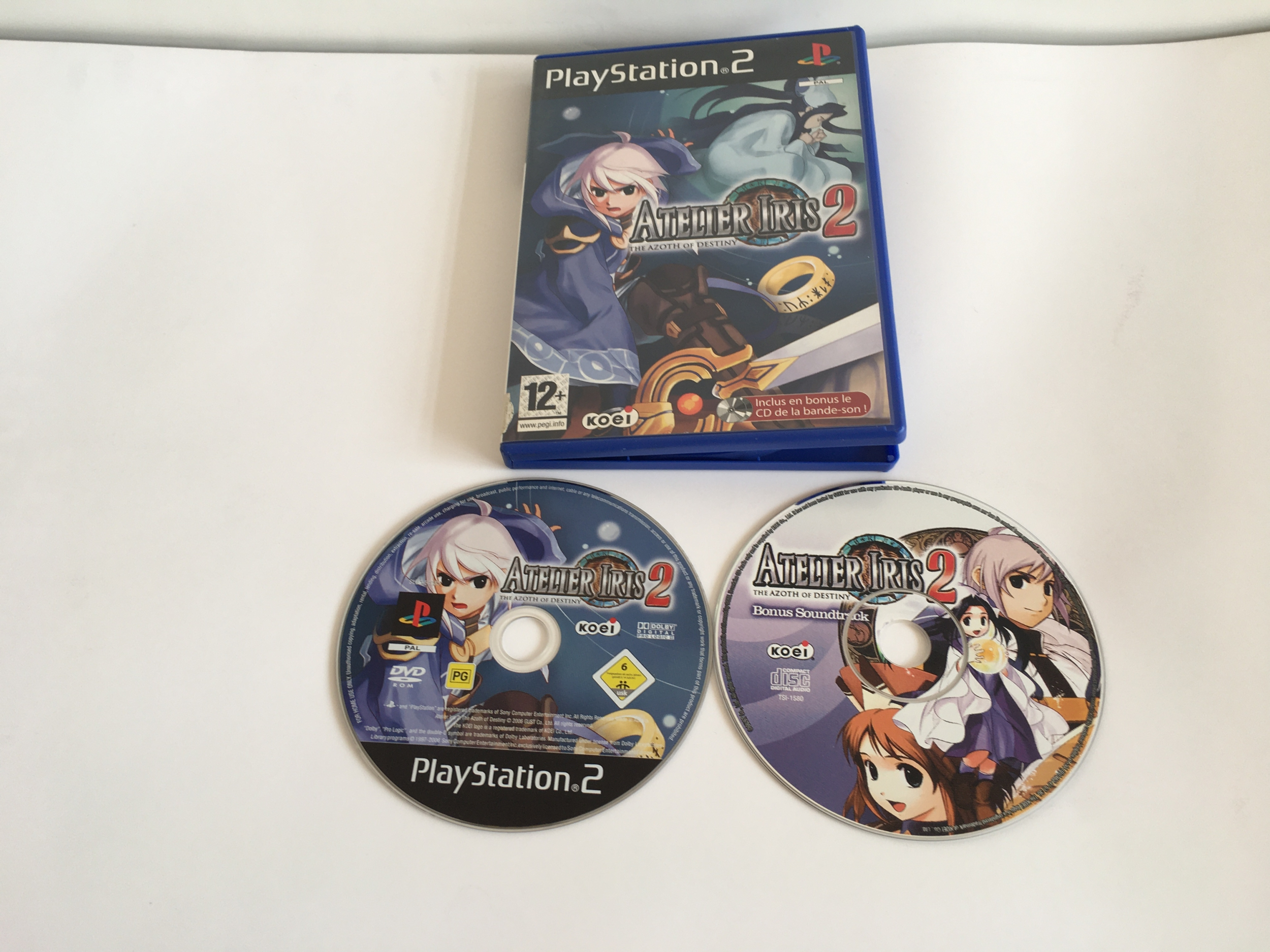 Atelier Iris 2 The Azoth of Destiny PS2