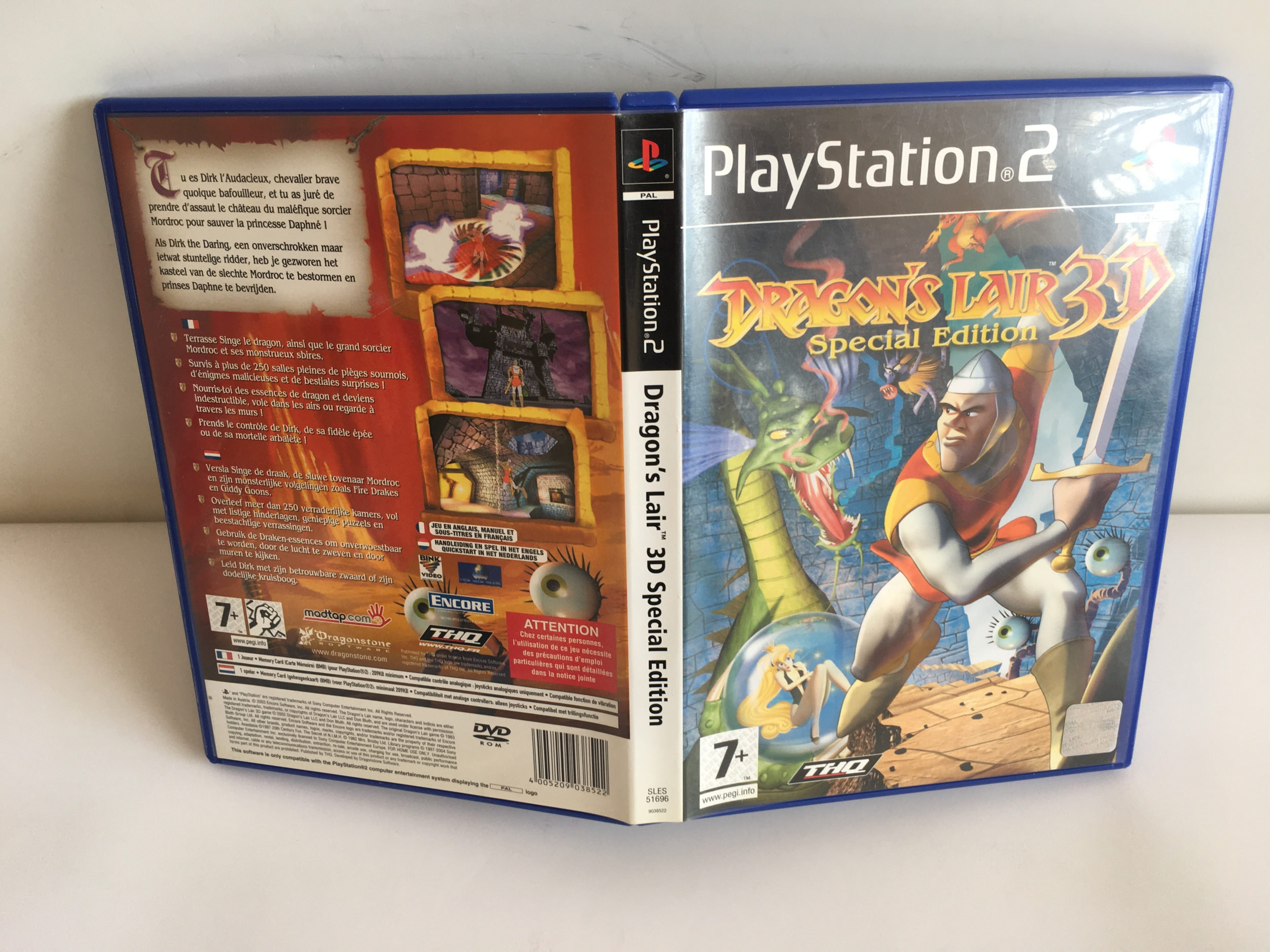 Dragon\'s Lair 3D Special Edition PS2