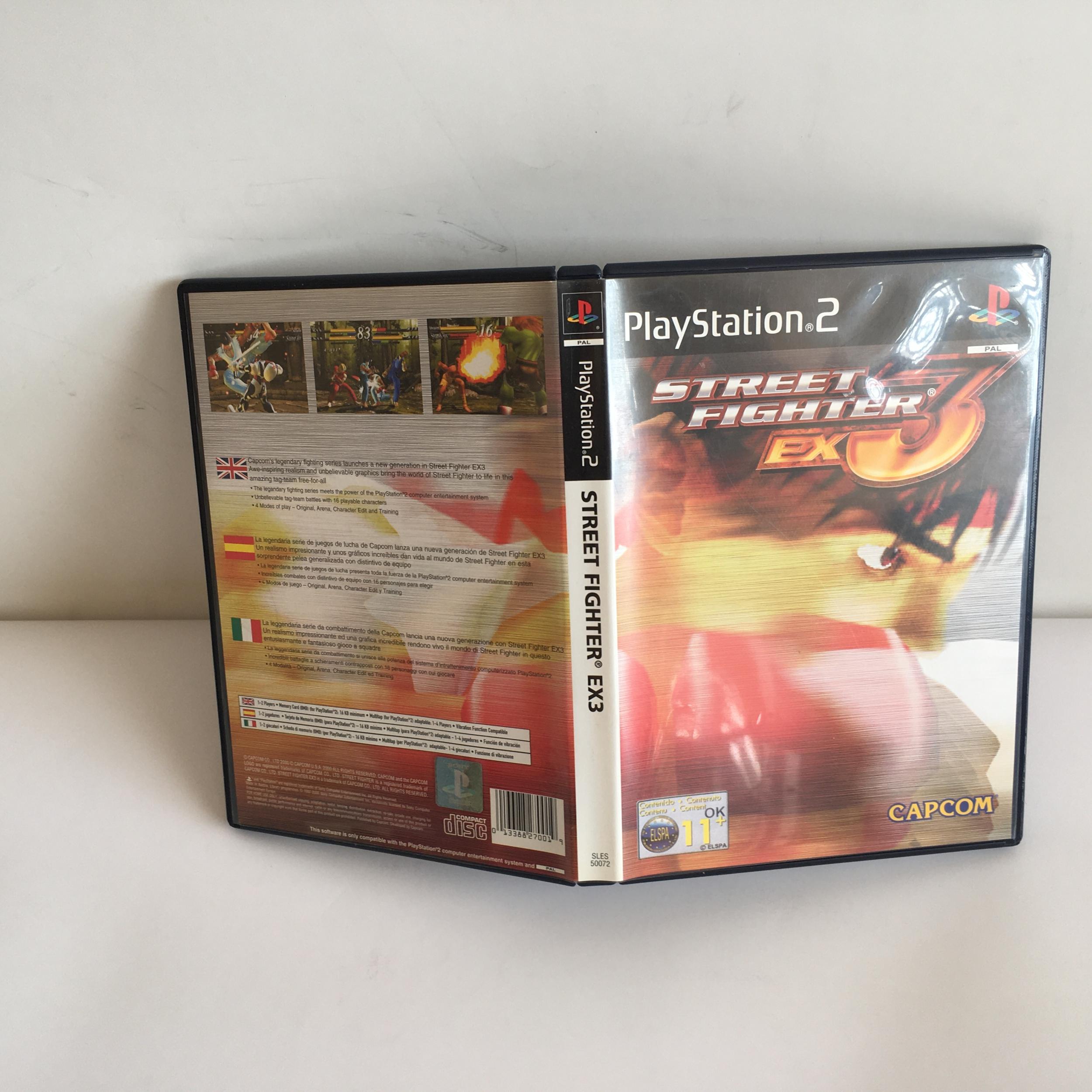 Street Fighter 3 EX PS2