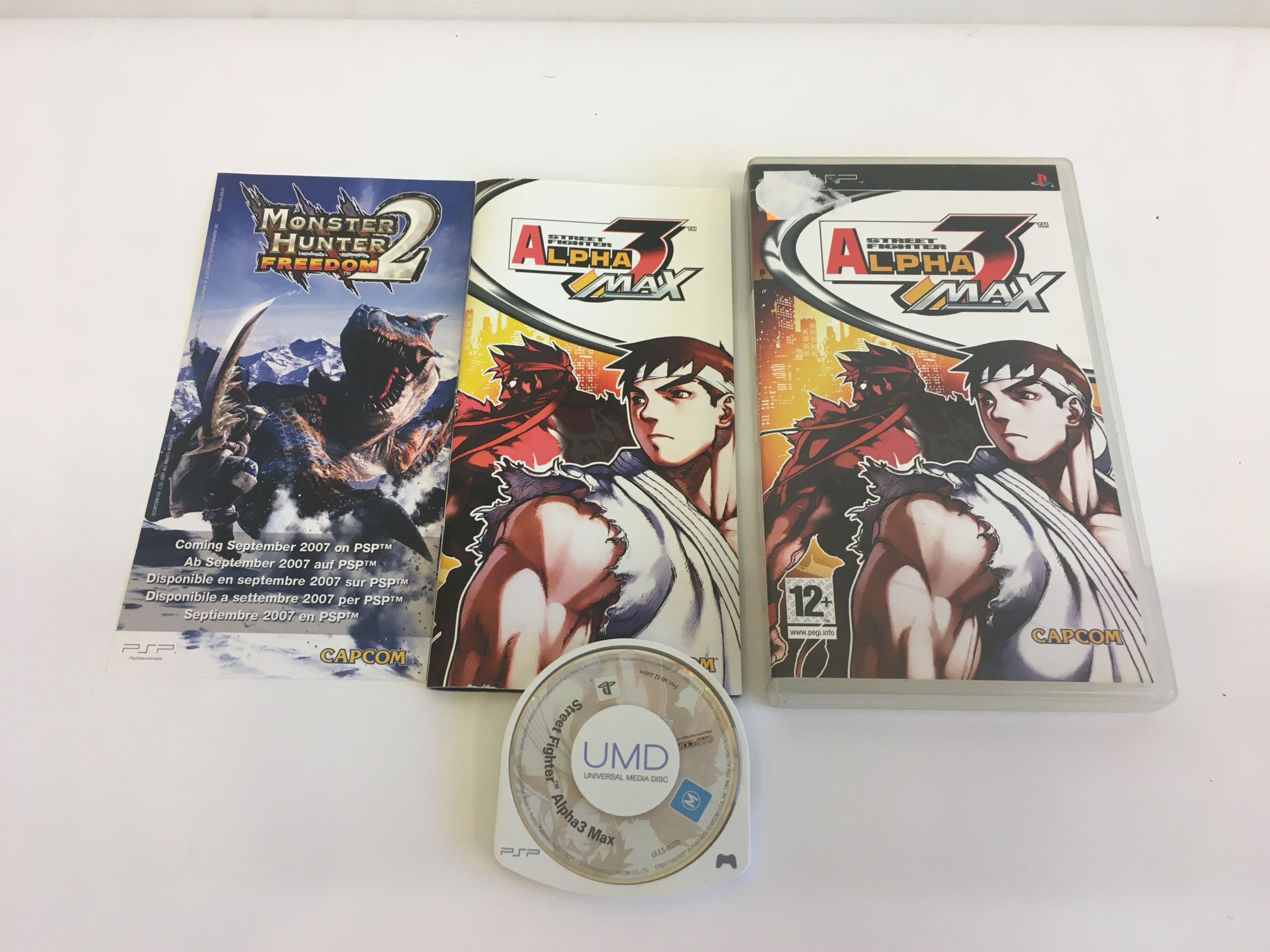 Street Fighter Alpha 3 Max PSP
