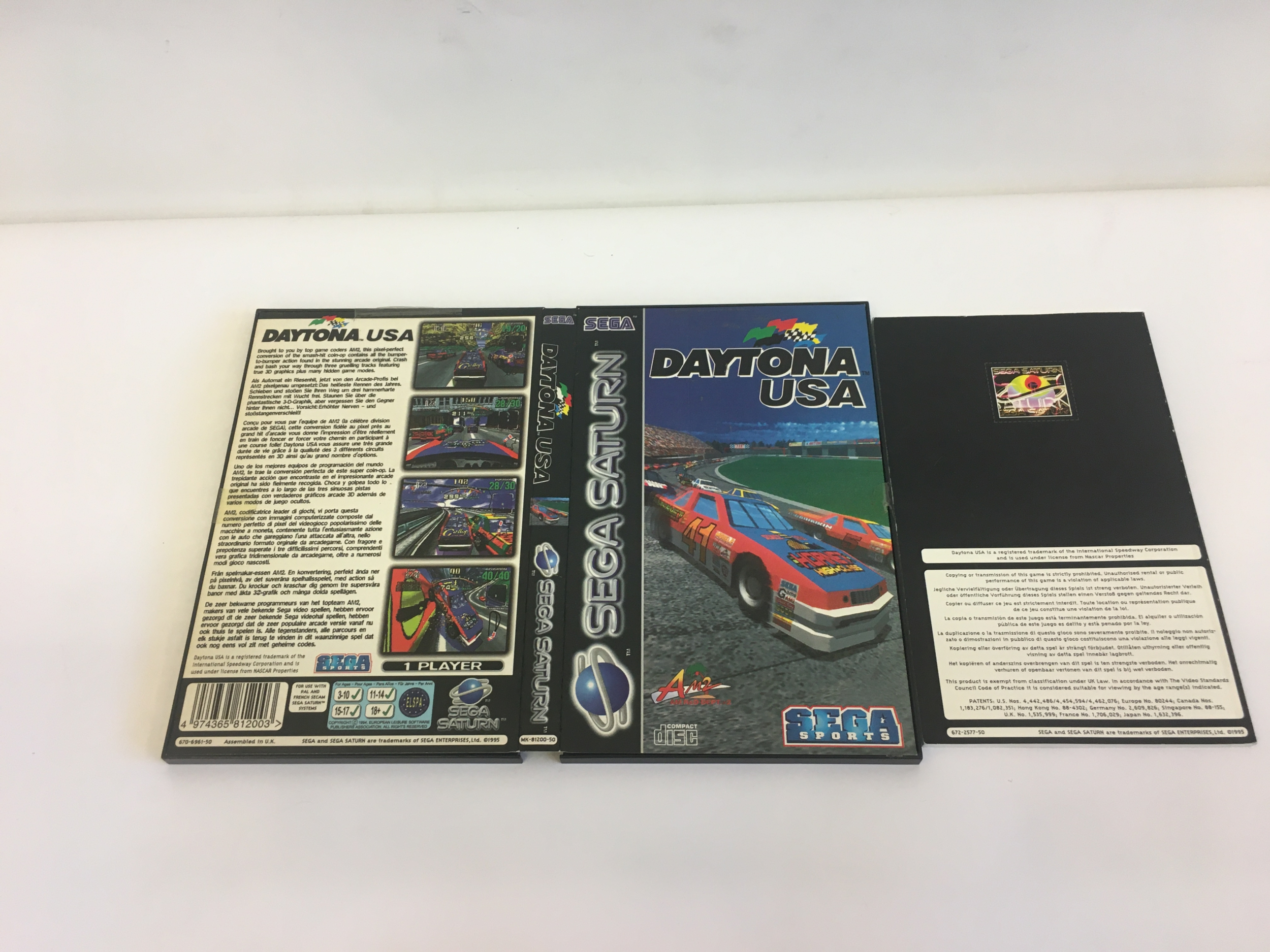 Daytona USA Sega Saturn