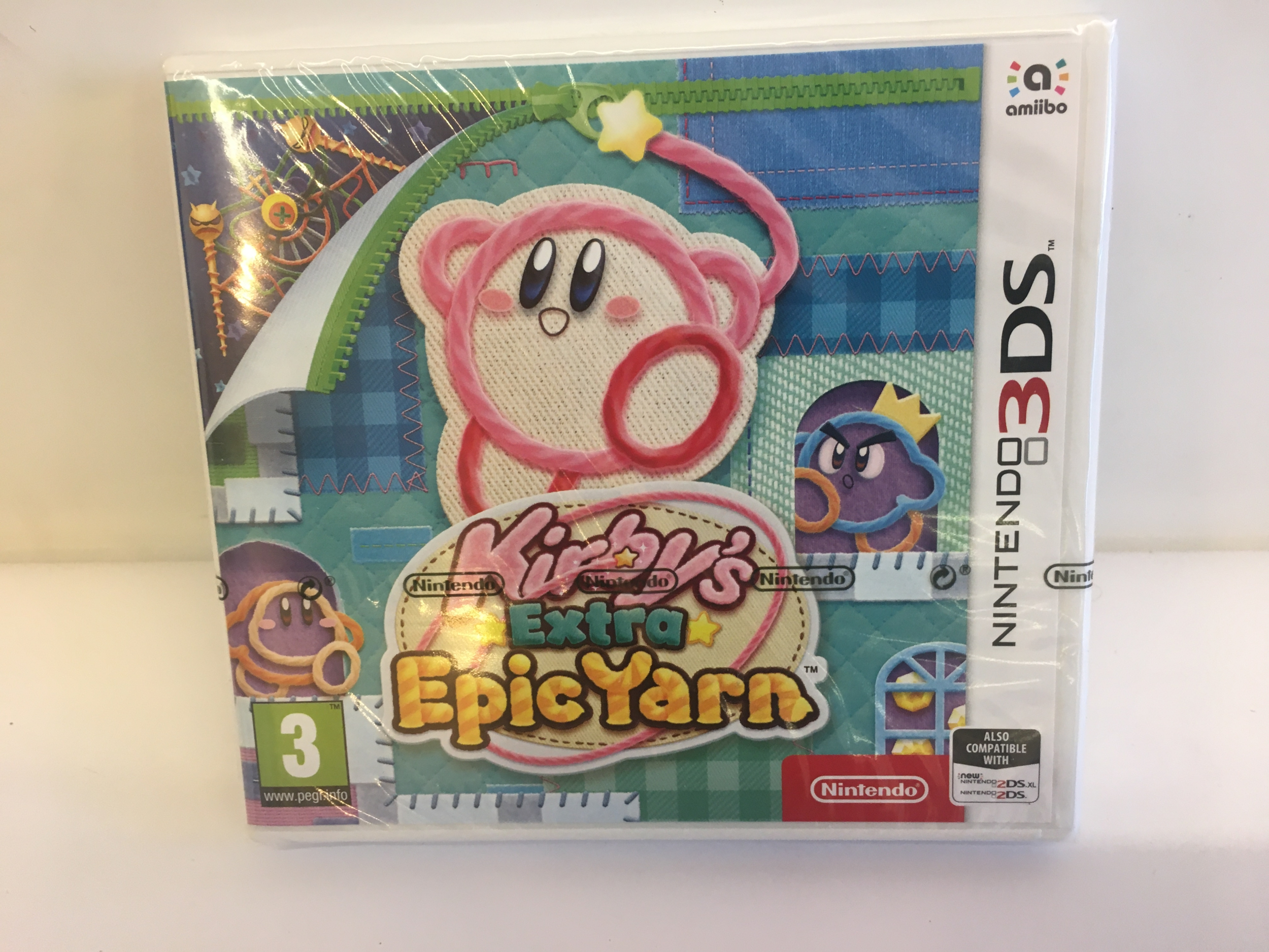 Kirby\'s Extra Epic Yarn 3DS