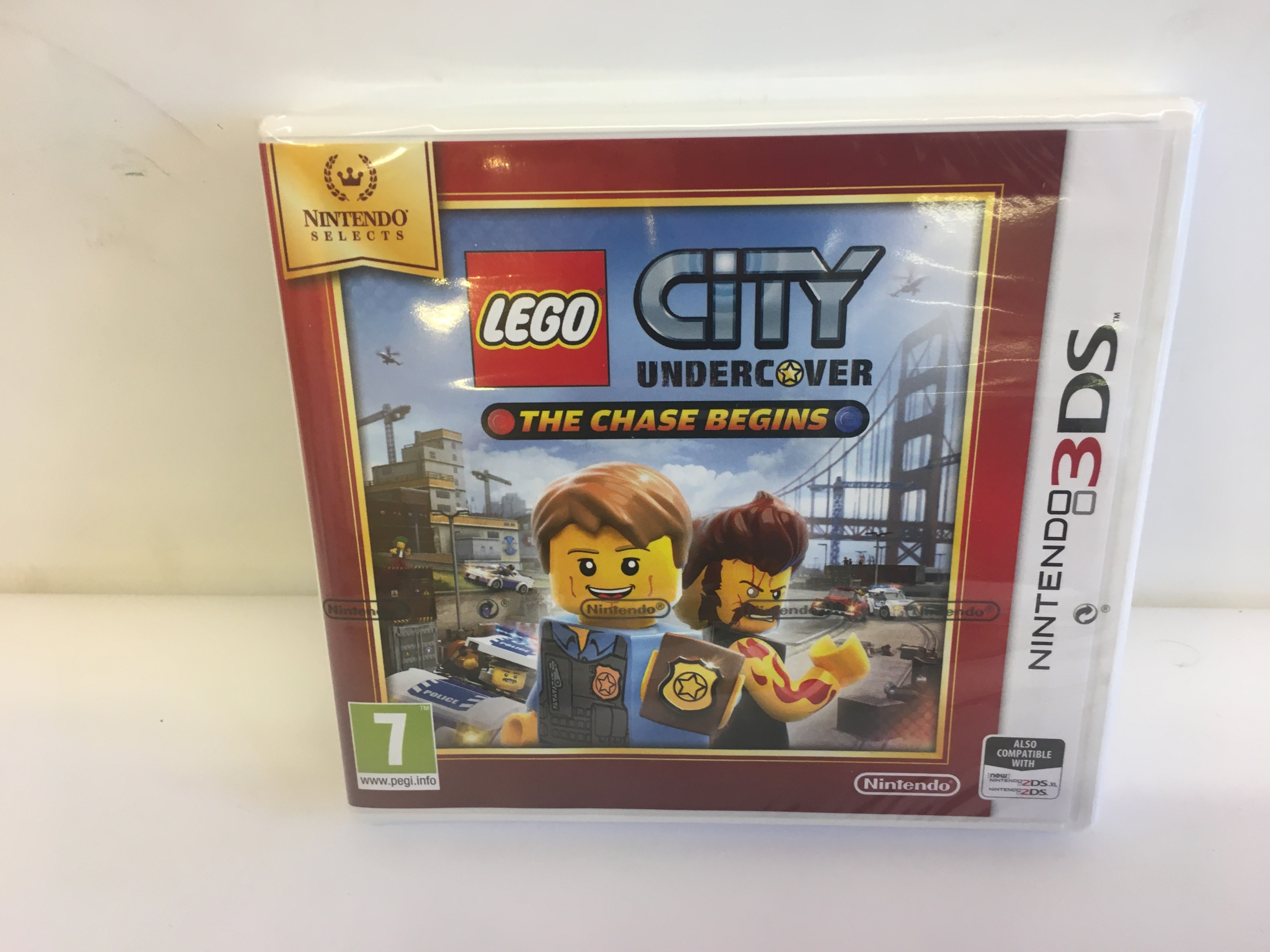 Lego City Undercover : The Chase Begins Neuf 3DS