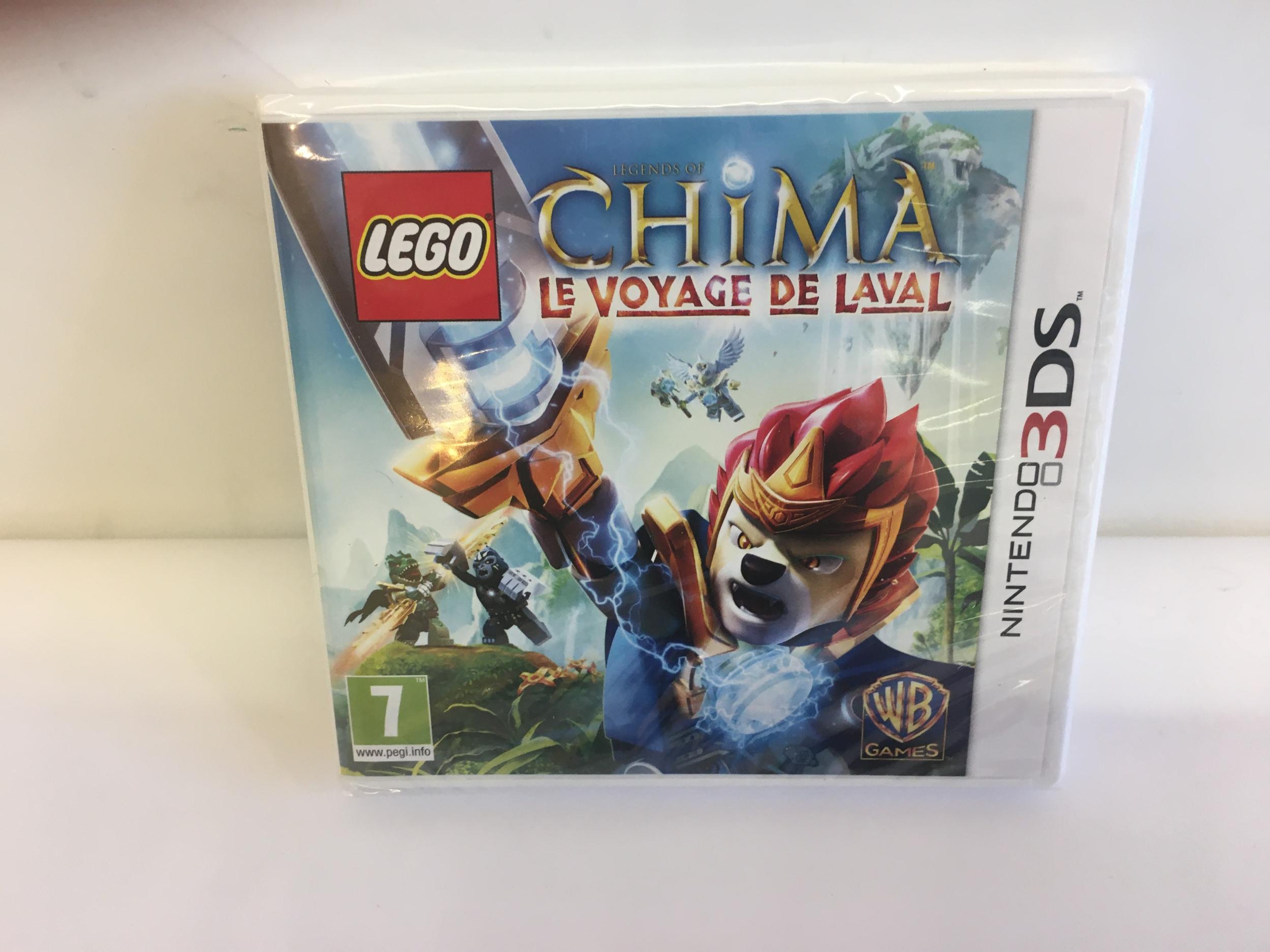 Legends of Chima : Le voyage de Laval 3DS