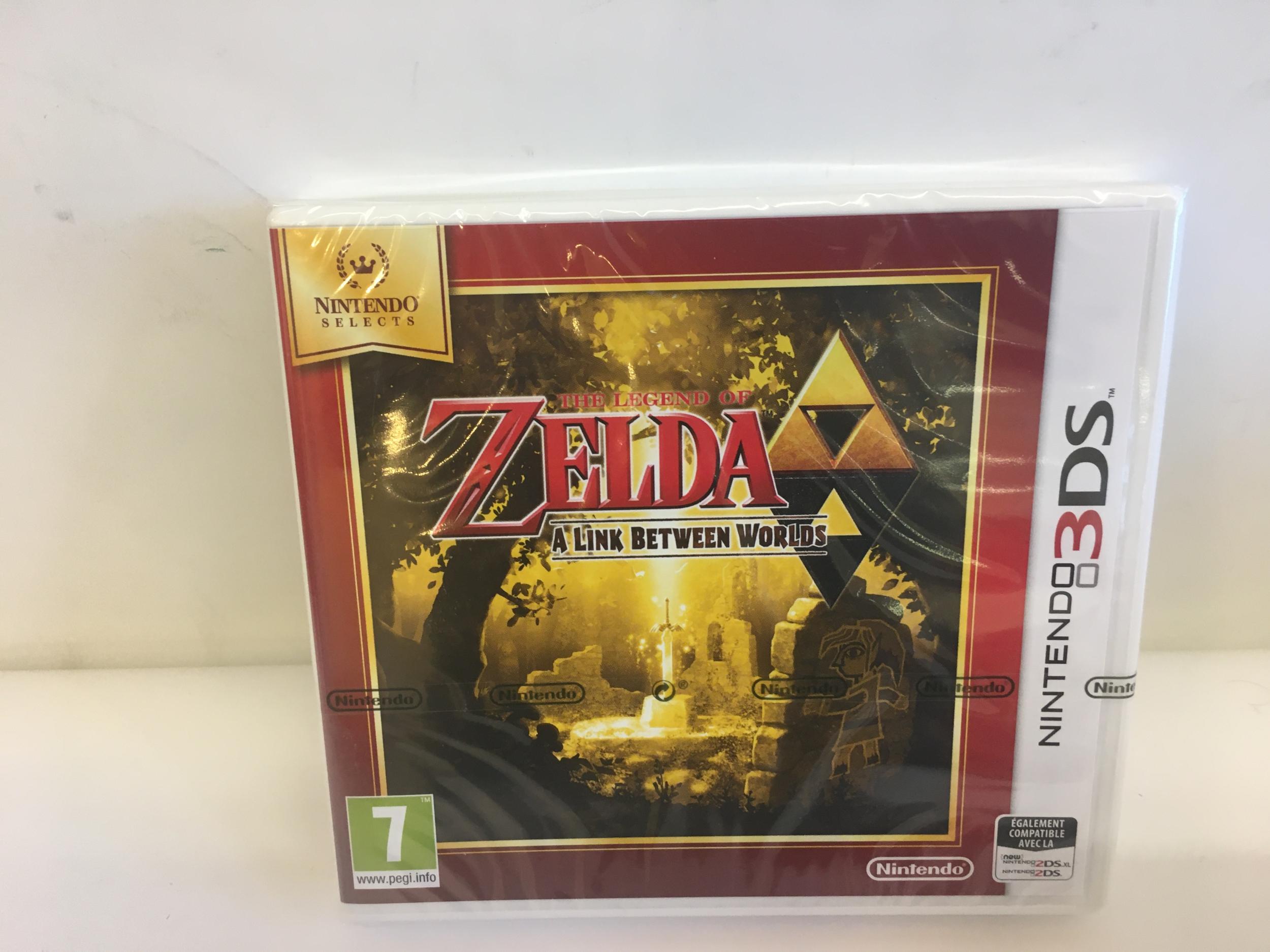 The Legend of Zelda : A Link Between Worlds 3DS