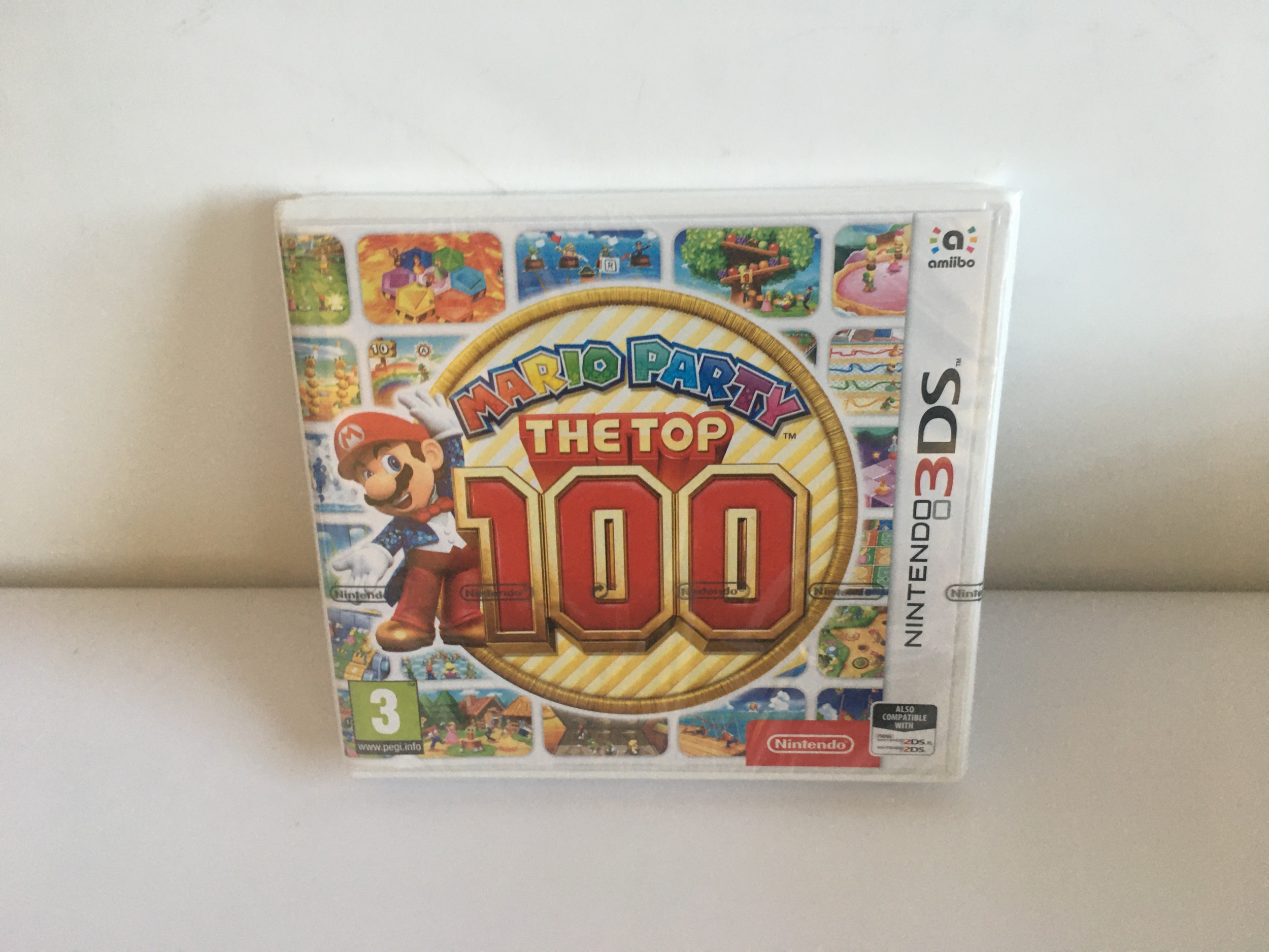 Mario Party : The Top 100 3DS