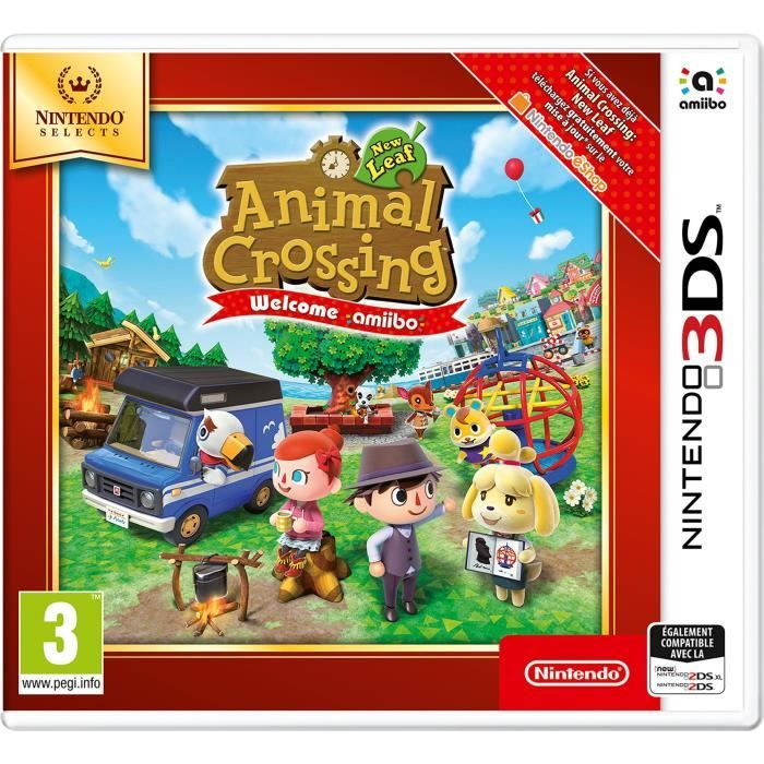 Animal Crossinf New Leaf : Welcome Amiibo 3DS