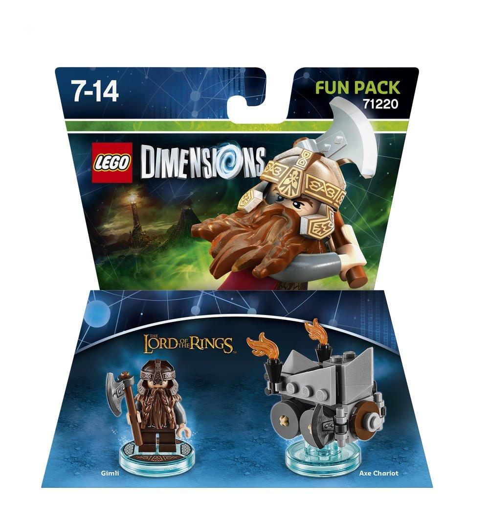 Figurine Lego Dimension Gimli Le Seigner des Anneaux Fun Pack