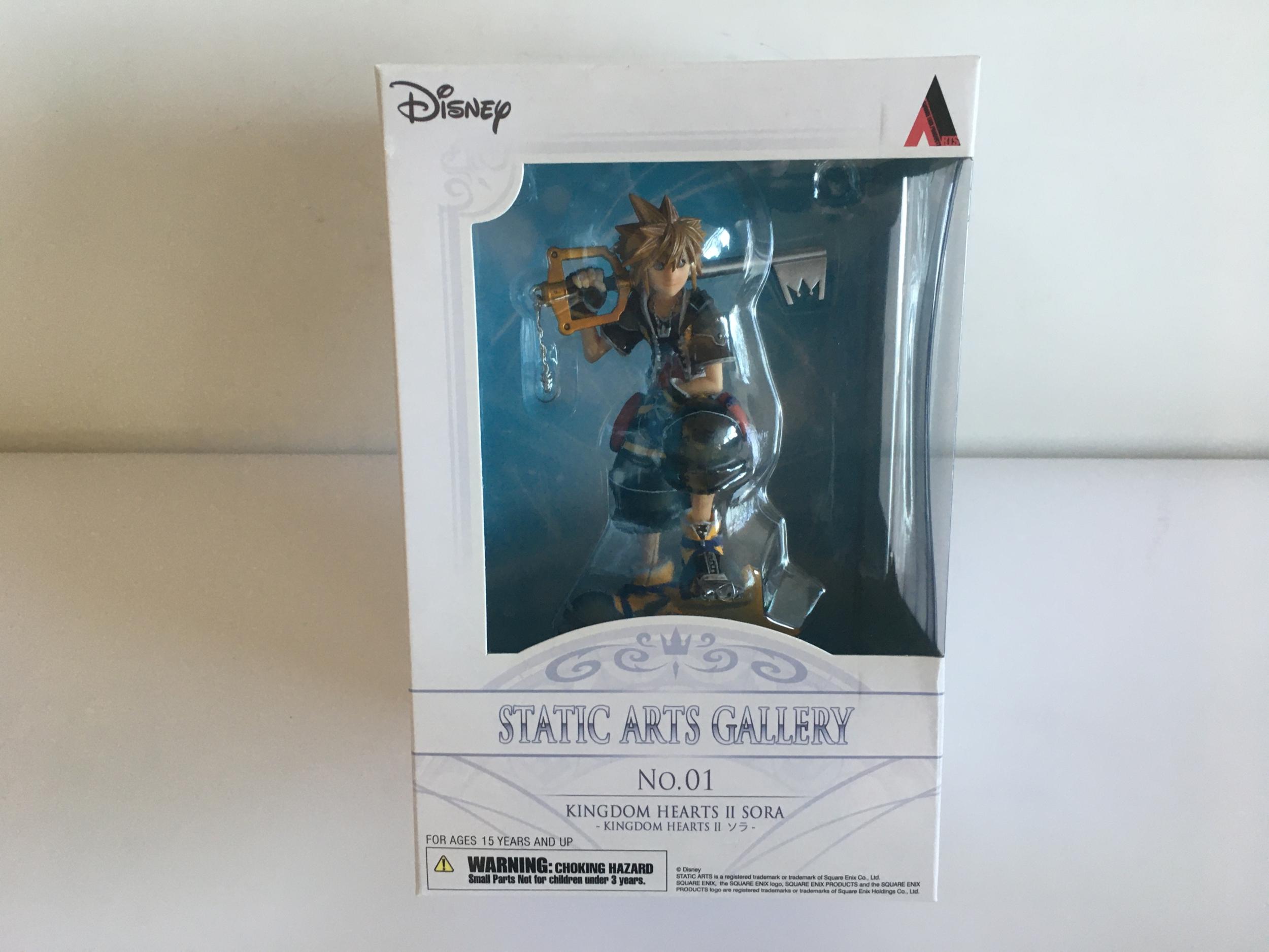 Figurine Kingdom Hearts II - Sora - Static Arts Gallery