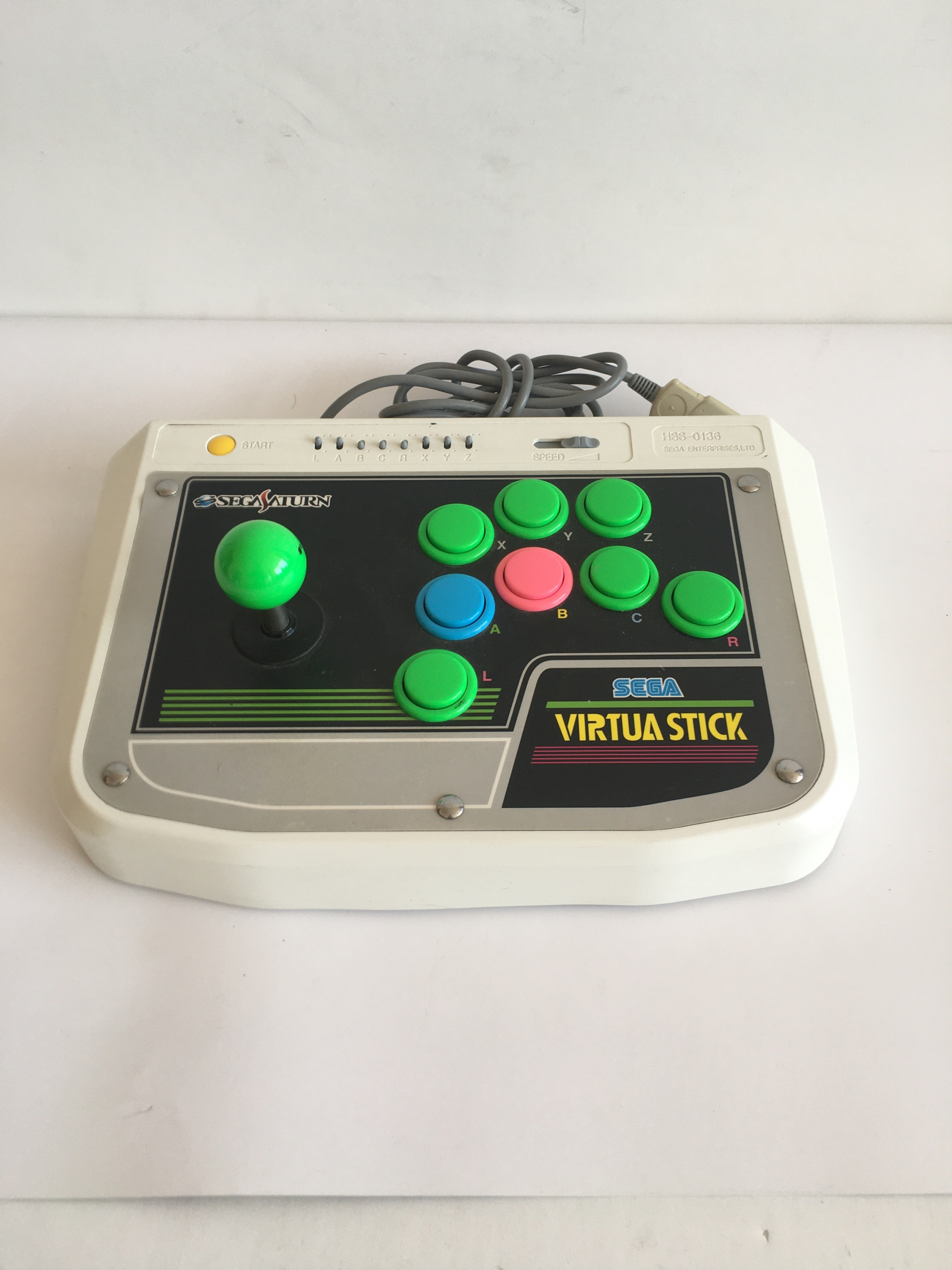 Virtua Arcade Stick Sega Saturn