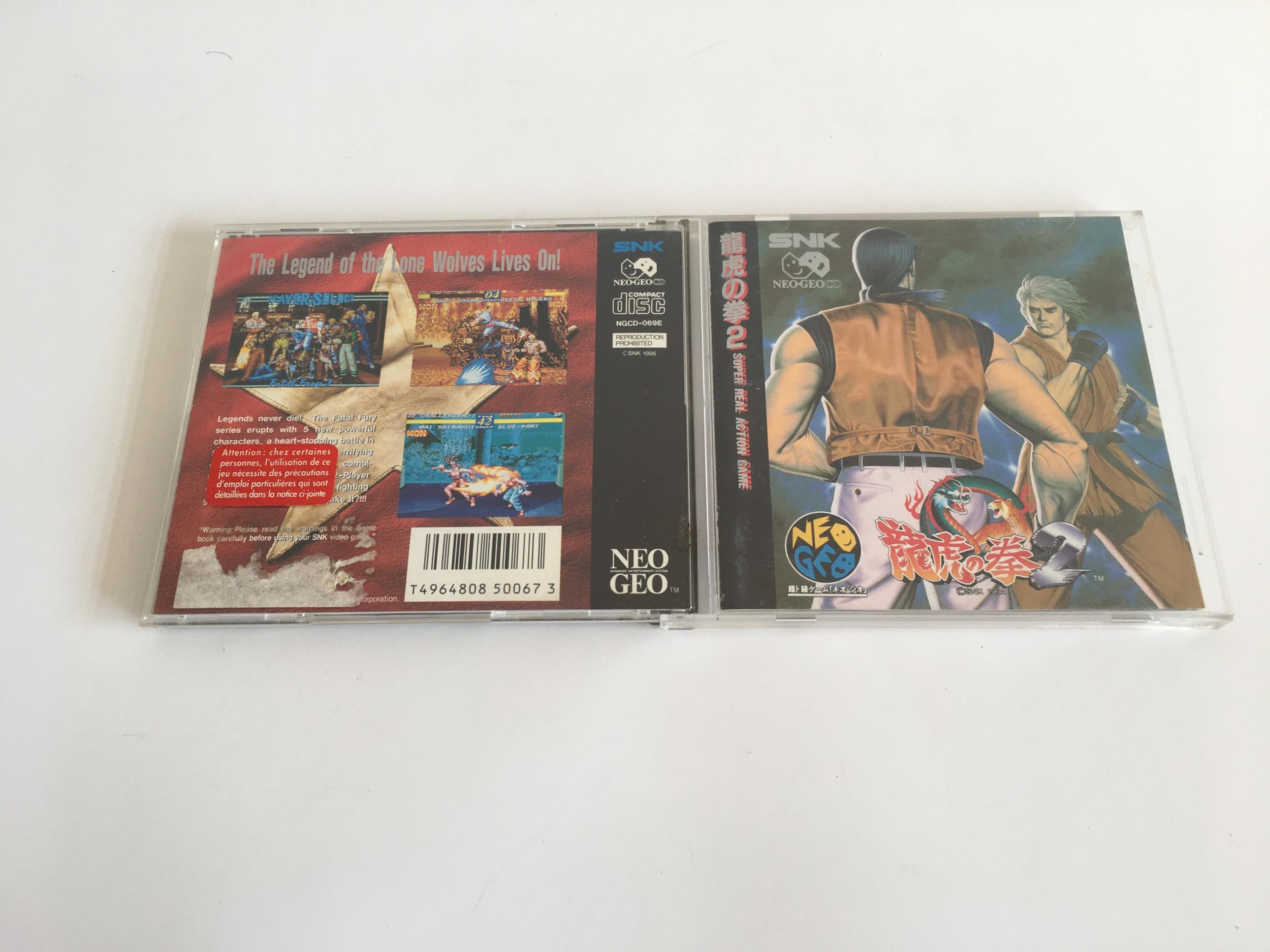 Fatal Fury 2 Neo Geo CD