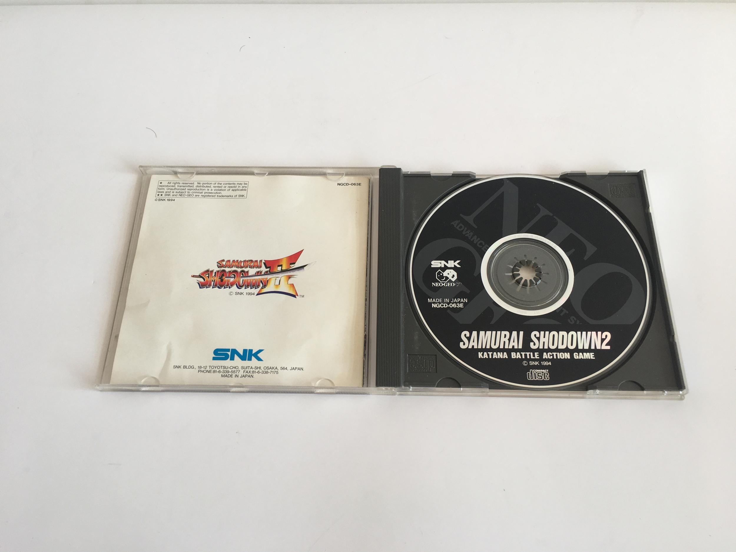 Samurai Shodown 2 Neo Geo CD