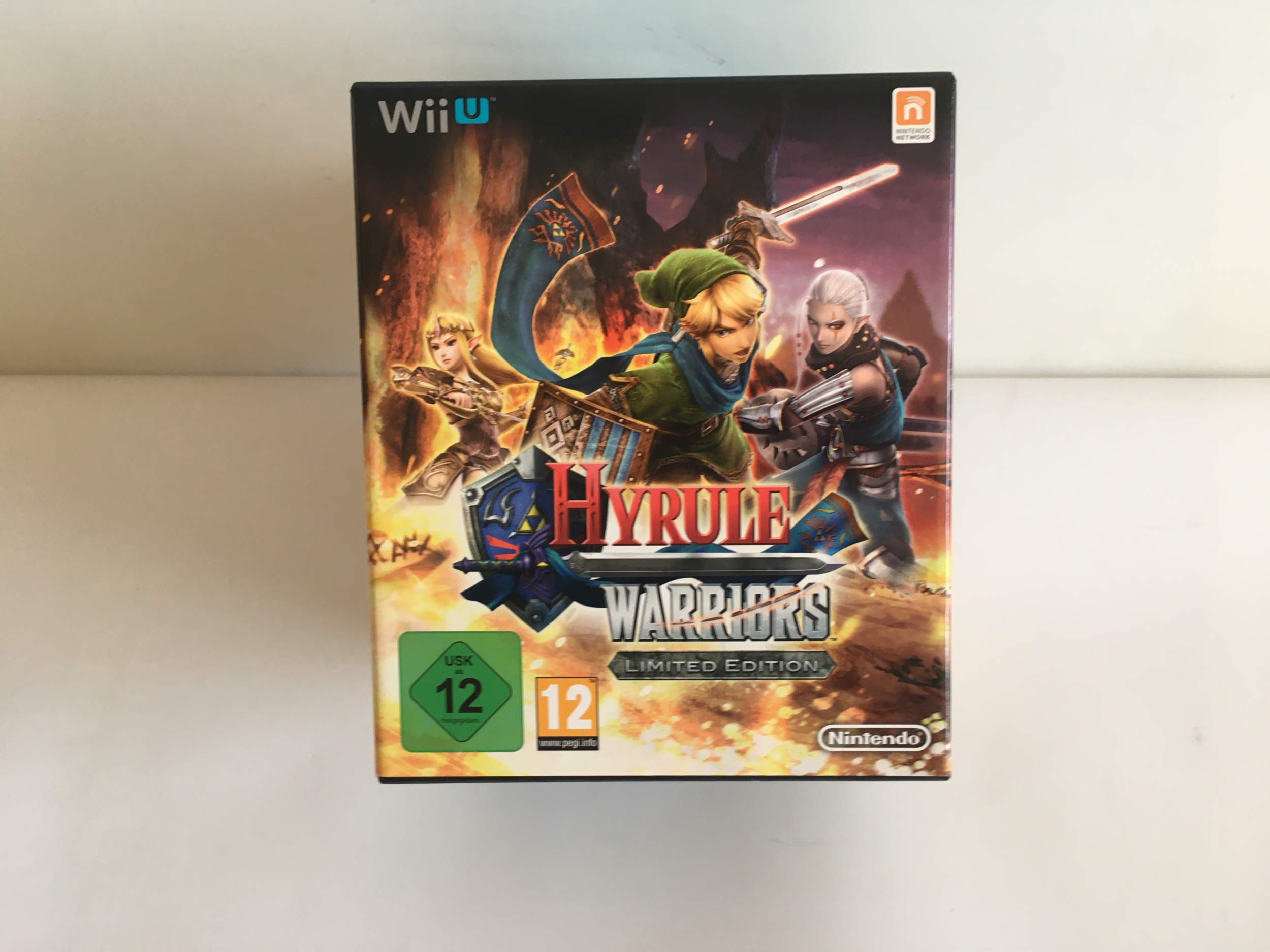 Hyrule Warriors Limited Edition Neuf Wii U