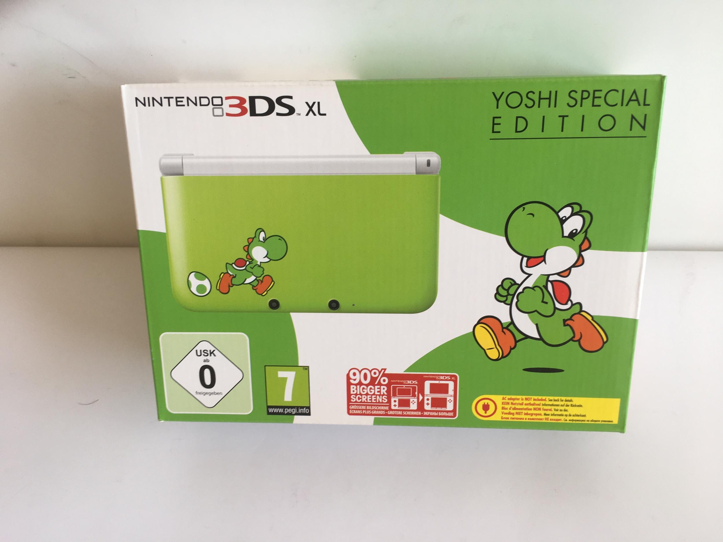 Console Nintendo 3DS Yoshi Special Edition Neuve