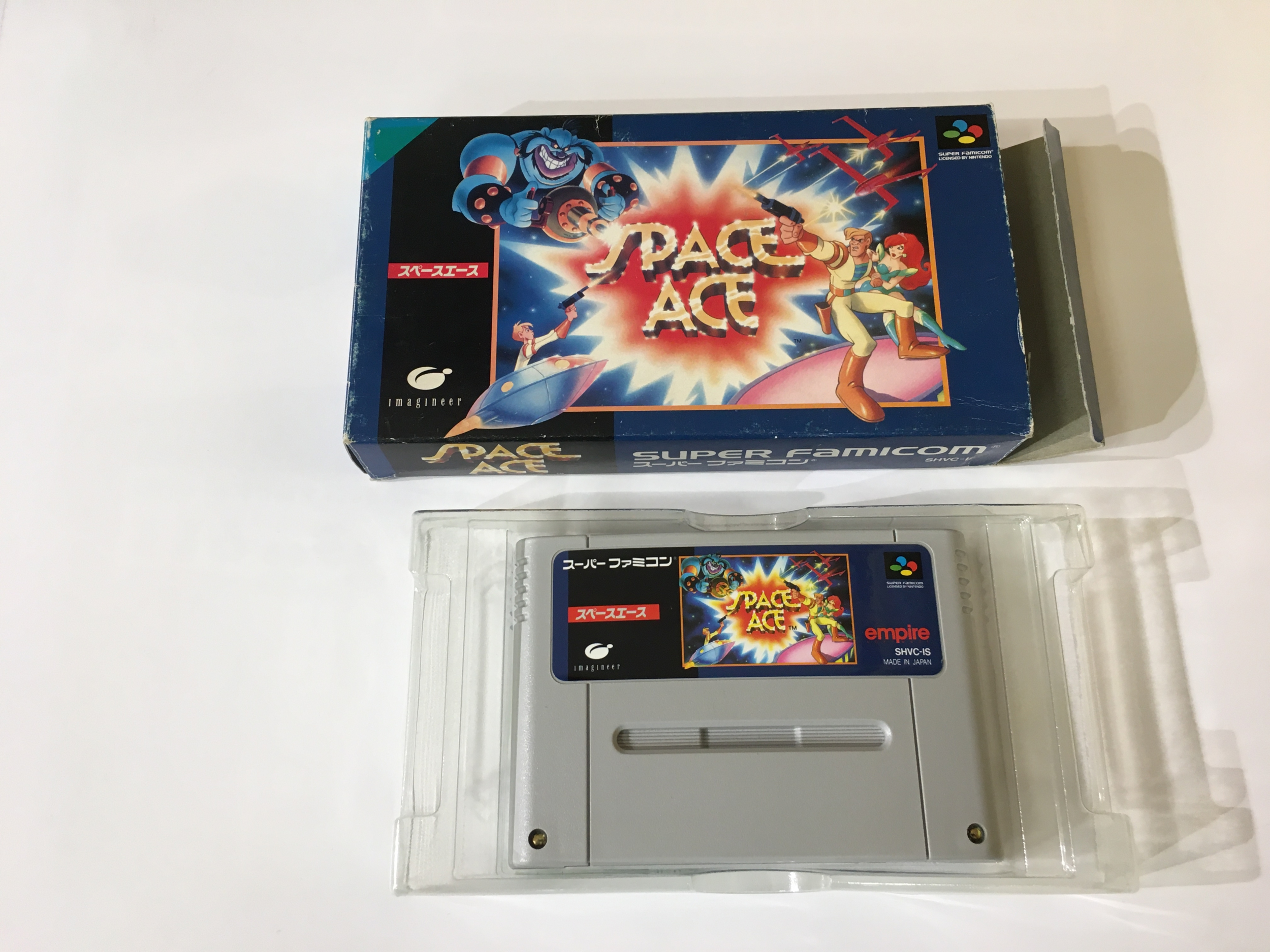 Space Ace Super Famicom