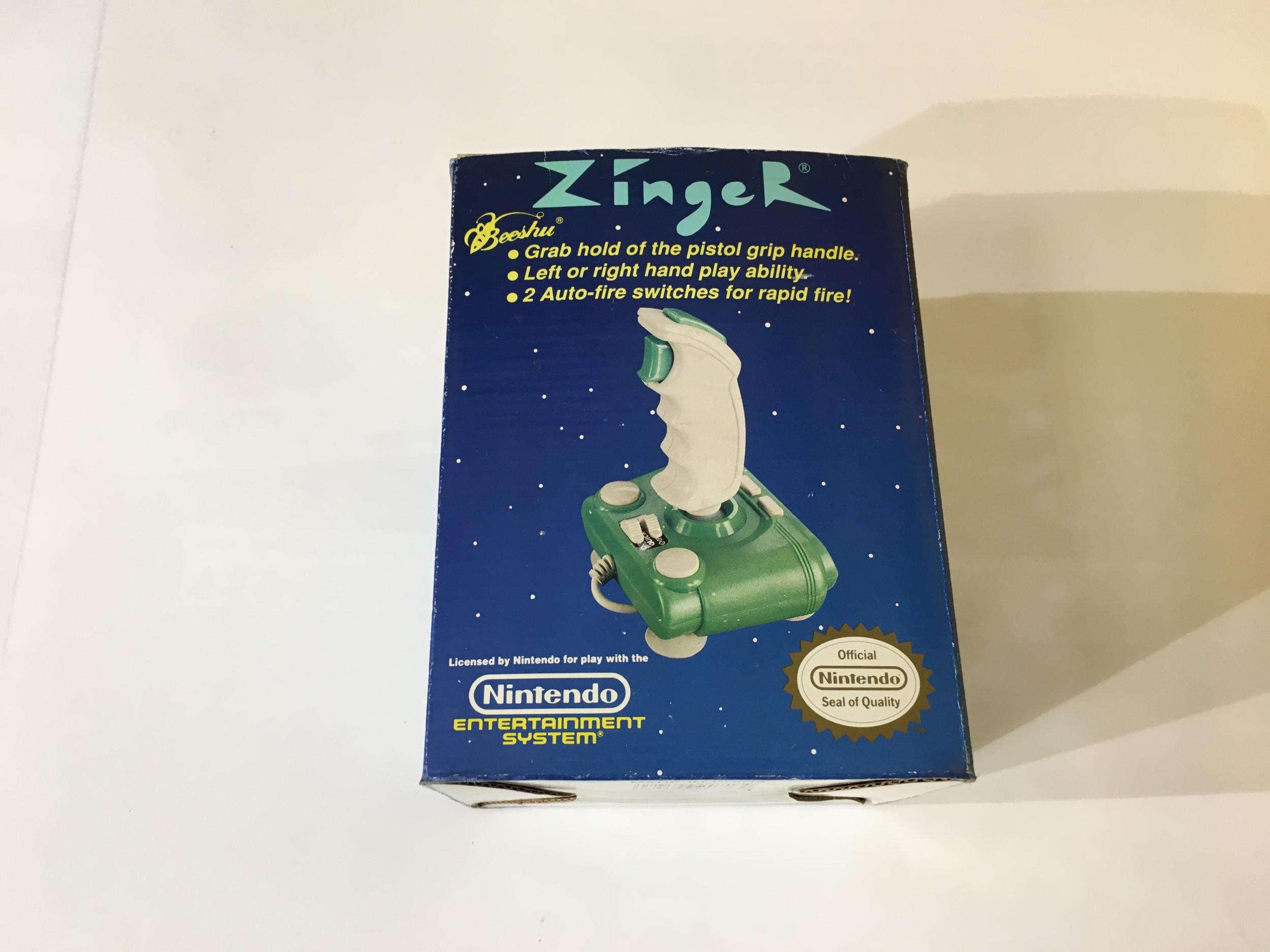 Zinger Color Joystick pour Nintendo NES