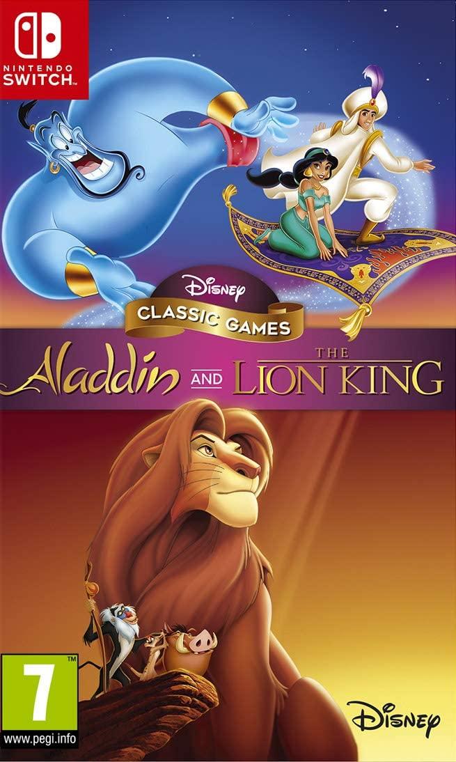 Aladdin et le Roi Lion Remaster Collection Nintendo Switch