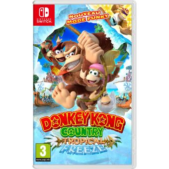 Donkey Kong Country Tropical Freeze Nintendo Switch