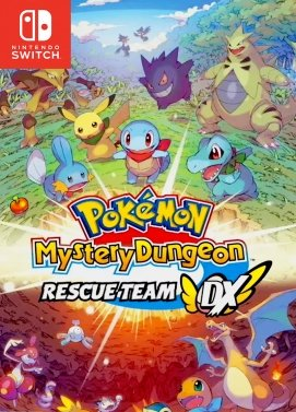 Pokemon Donjon Mystere Equipe De Secours DX Nintendo Switch
