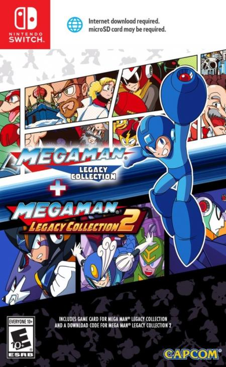 Mega Man Legacy Collection 1 & 2 Nintendo Switch US