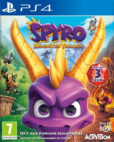 Spyro Reignited Trilogy PS4 occasion