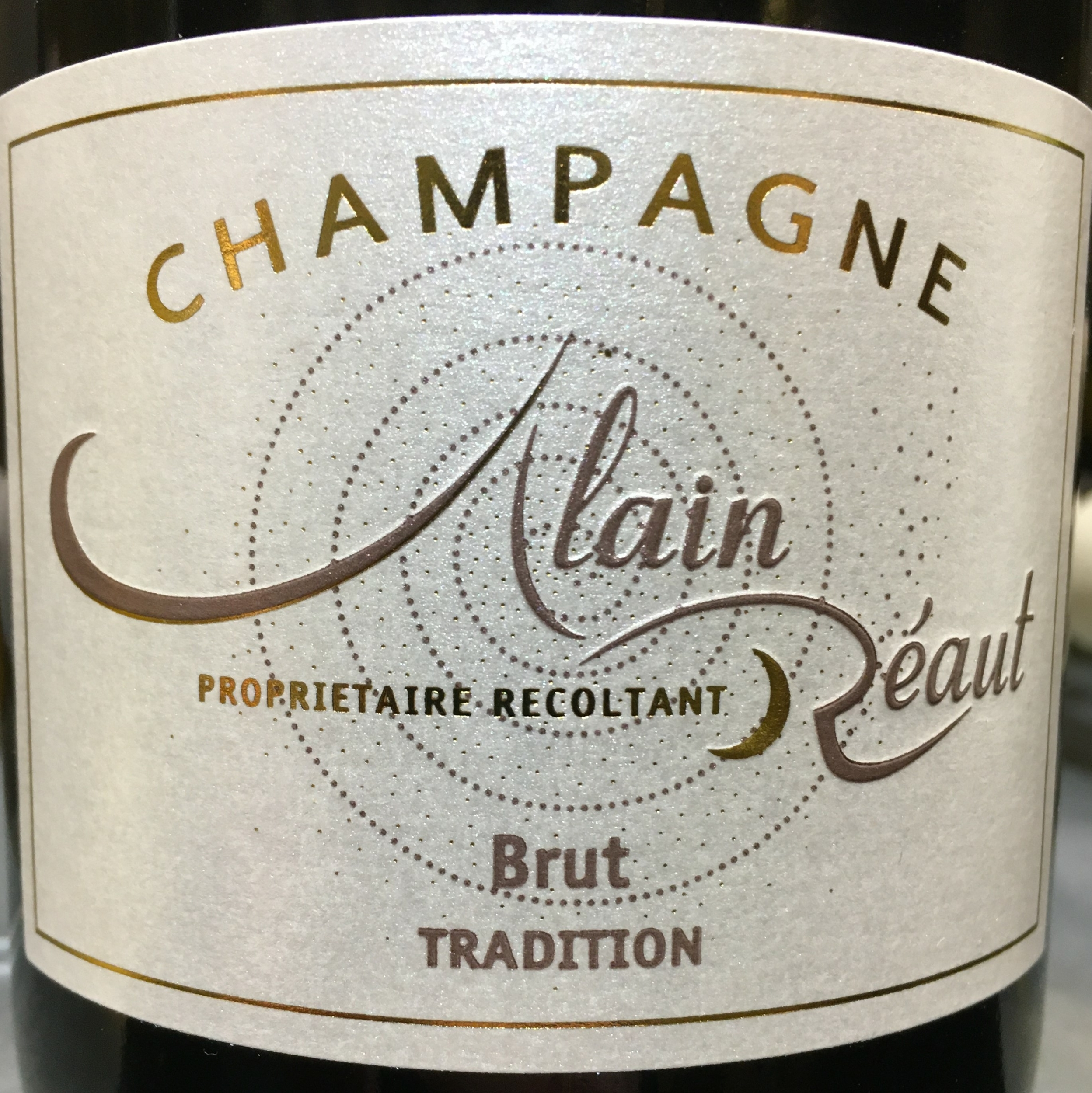 Brut Tradition Alain Réaut