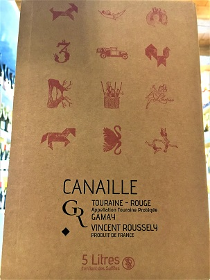BIB Canaille Rouge 5L