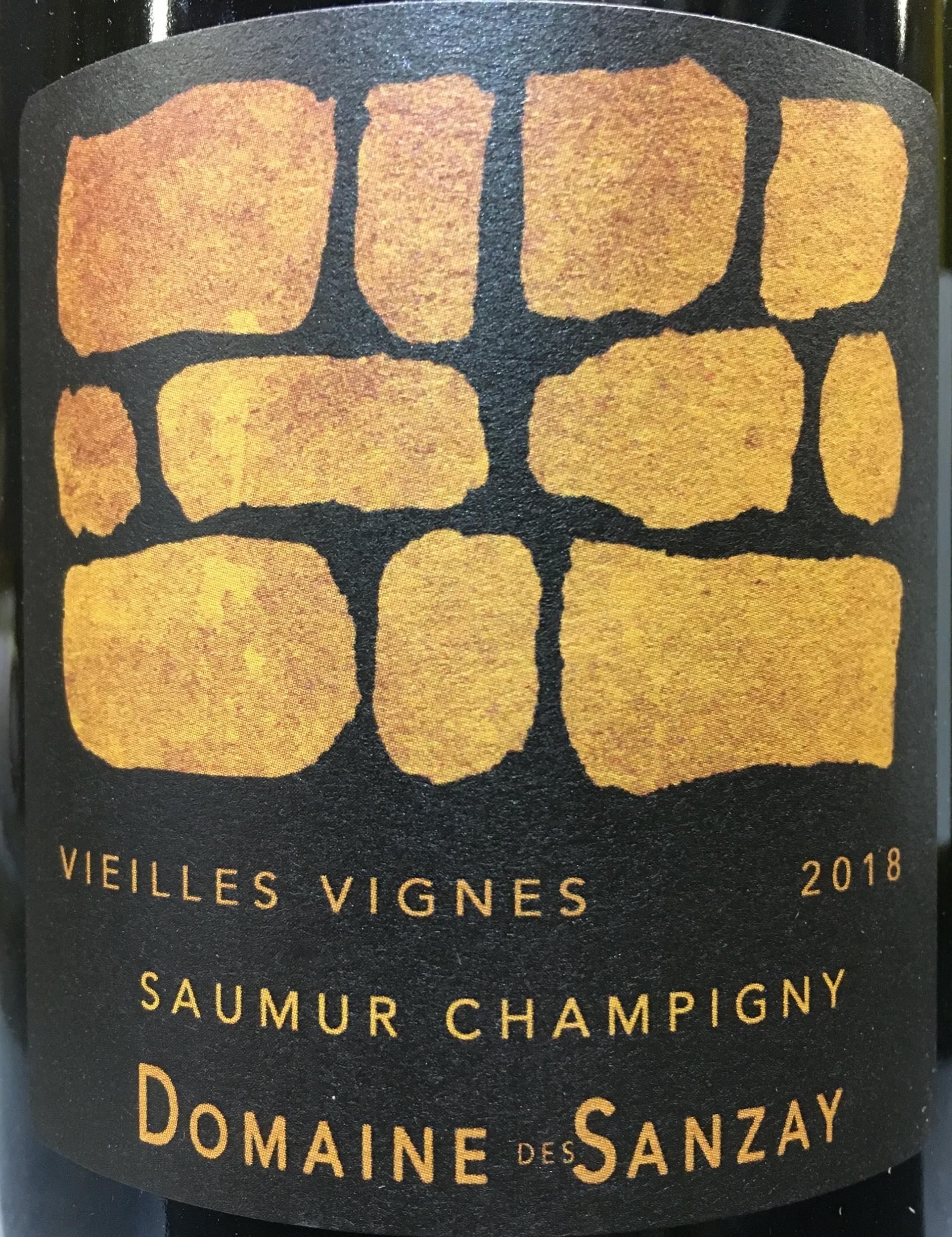 la nouvelle cave.saumur champigny vieilles vignes.domaine de sanzay.1