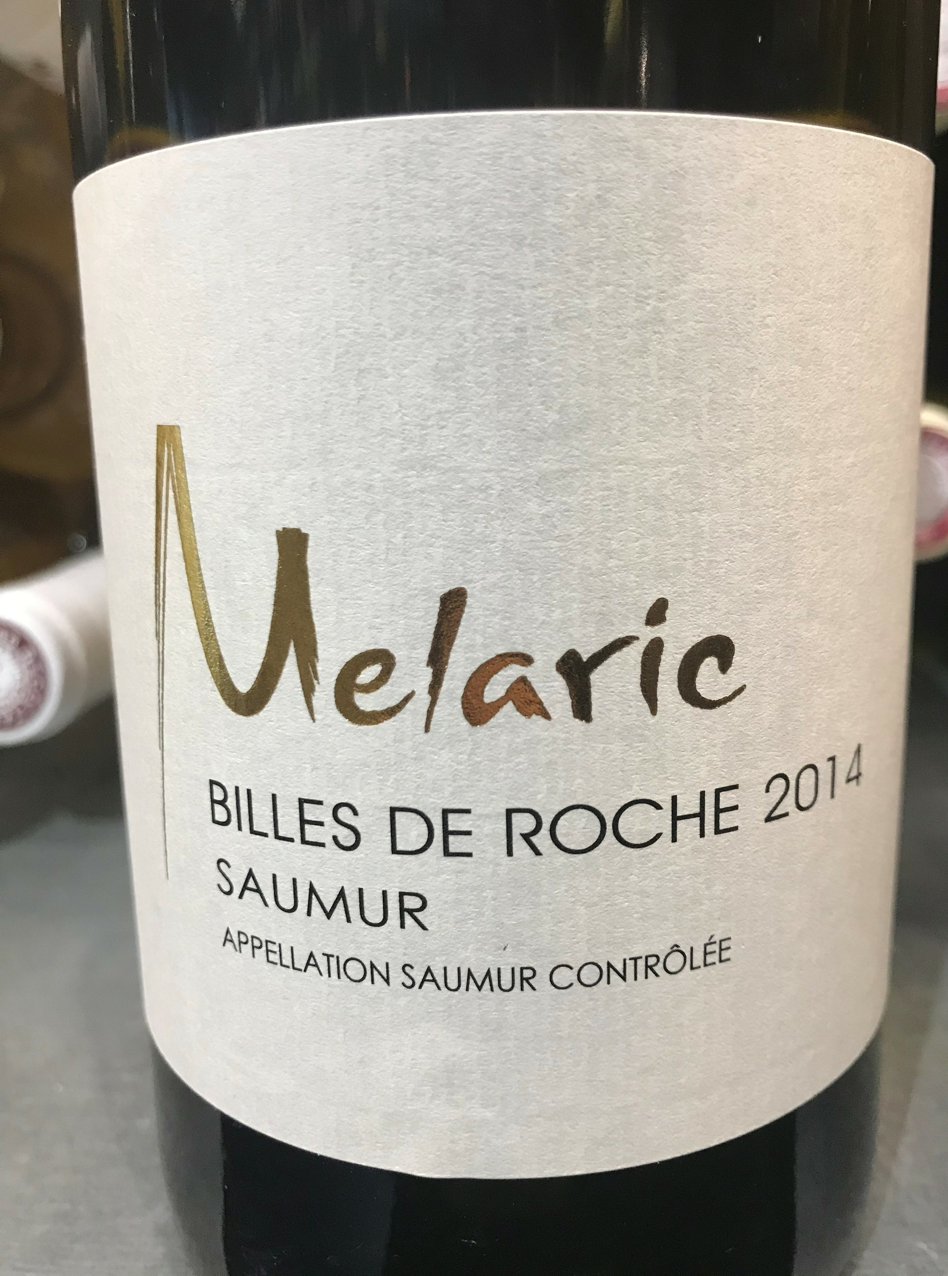 Billes de Roche Blanc 2014