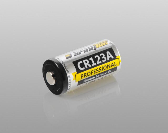PILE Armytech CR123A non-rechargeable