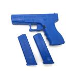 pistolet factice avec chargeurs