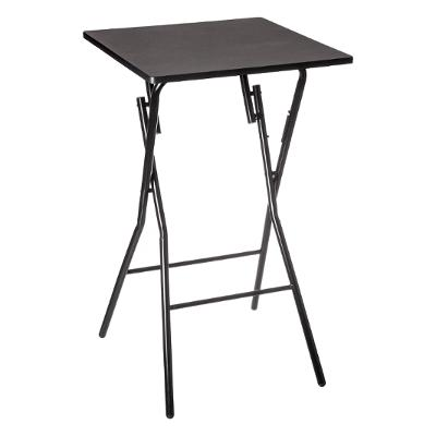 TABLE BAR PLIANTE 60X60CM NOIR