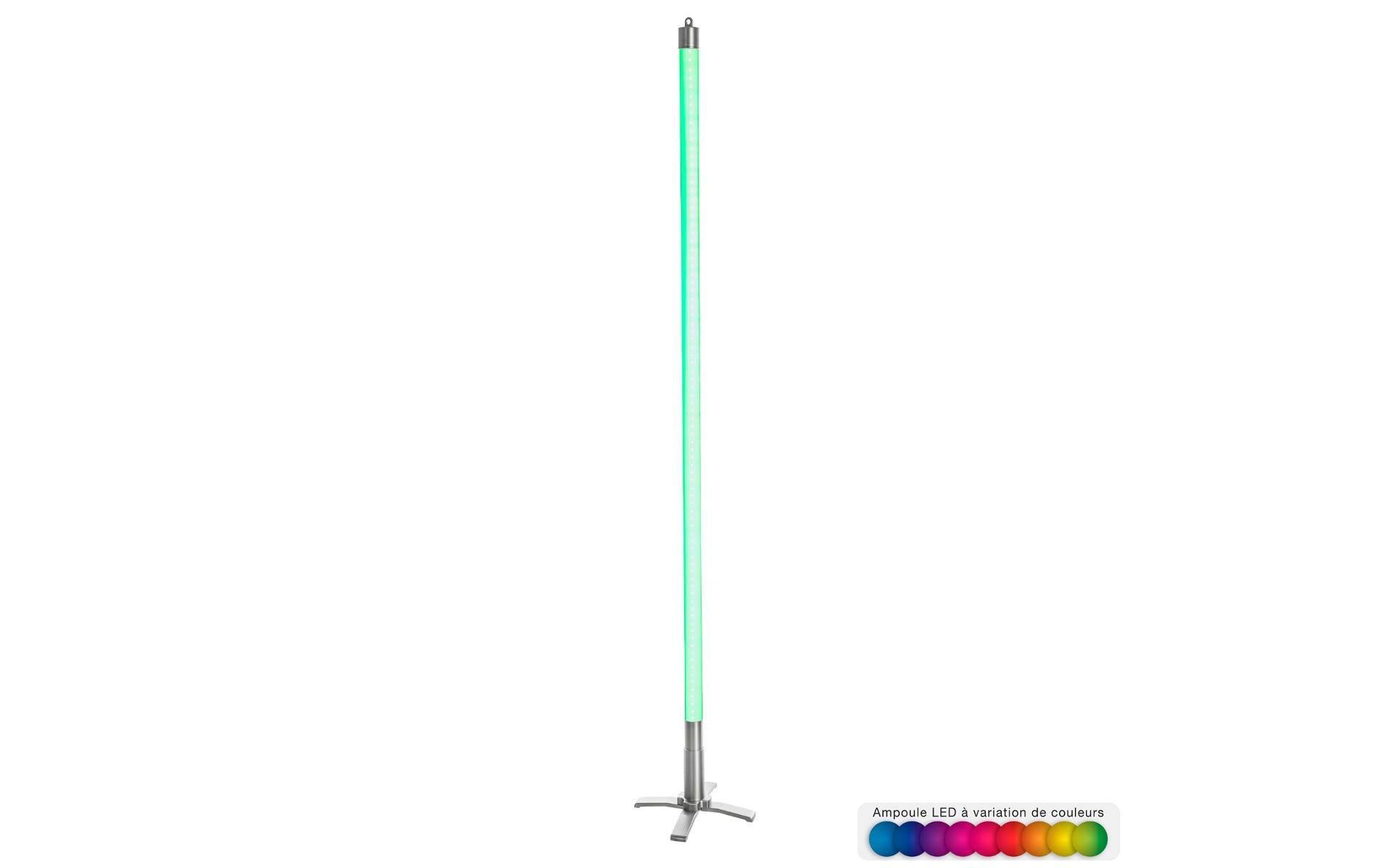 Tube néon LED Multicolore H134 + télécommande