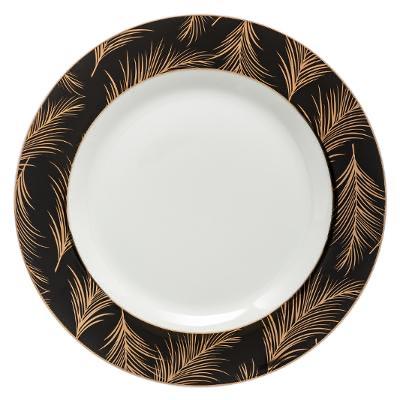 Assiette plate LADY JUNGLE 27CM