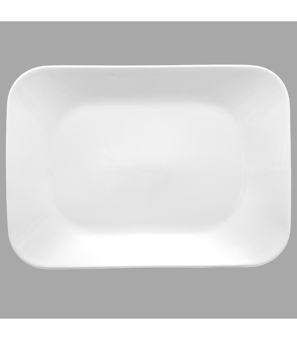 Assiette plate RECT ELEGANCE 29X20