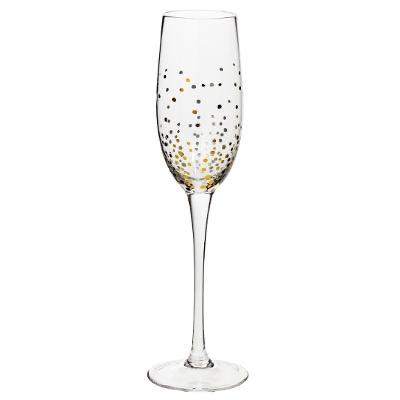 Flûte à champagne X6 JEANNE OR 21CL