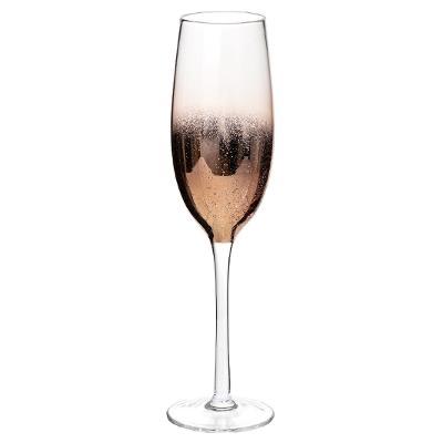 Flûte à champagne X1  DAHLIA CUIVRE 23CL