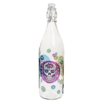 BOUTEILLE LIMO MEXICO SKULL 1L