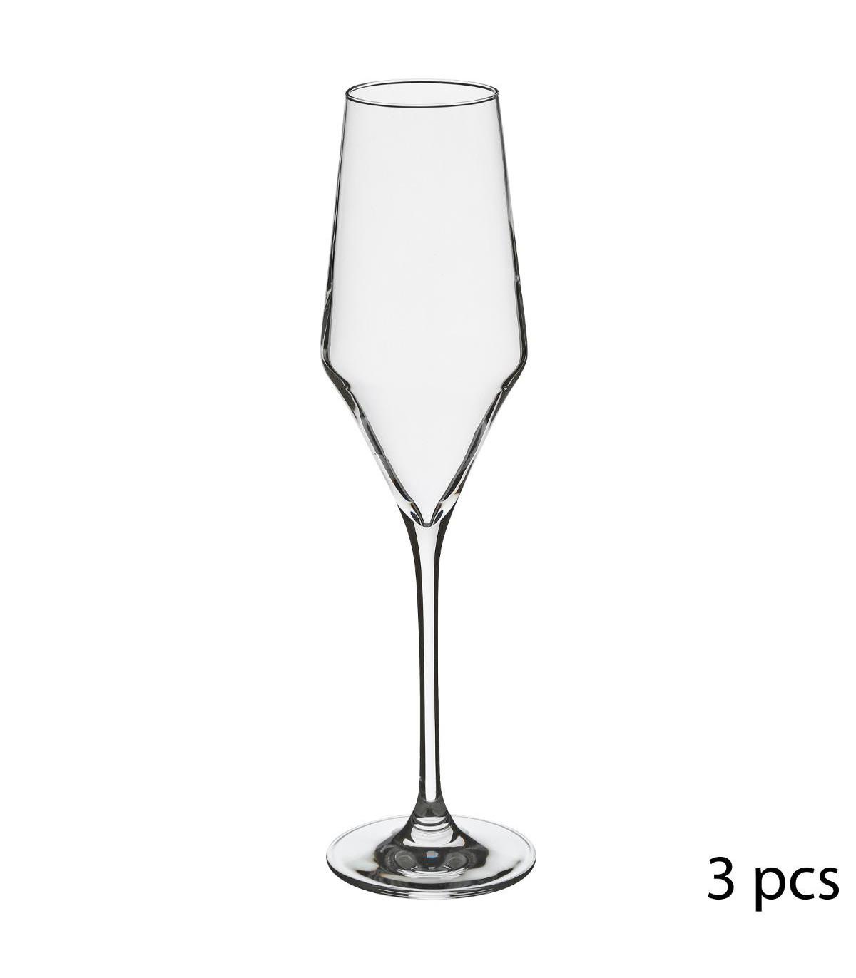 Flûte à champagne en Cristallin X3 CLARILLO 22CL