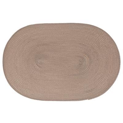 SET TABLE TRESSE TAUPE 29X44
