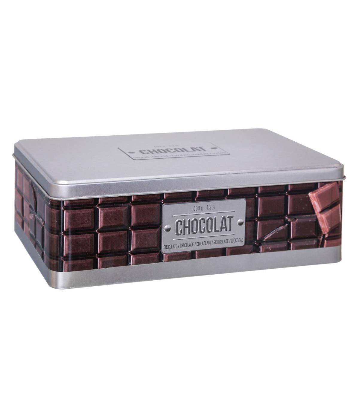 BOITE À TABLETTE CHOCOLAT RELIEF 4