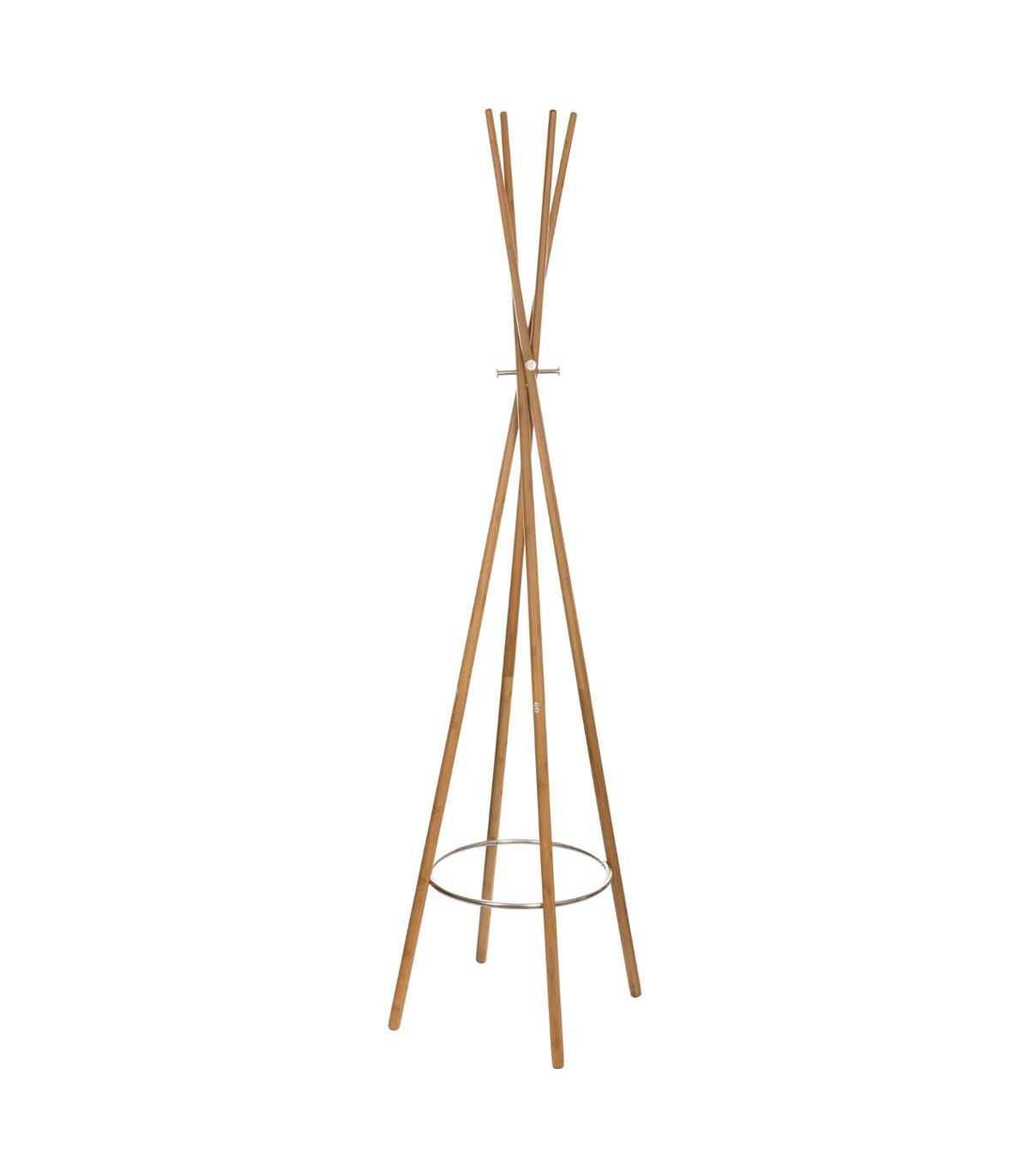 Porte-manteaux en bambou 8 tiges TIPI