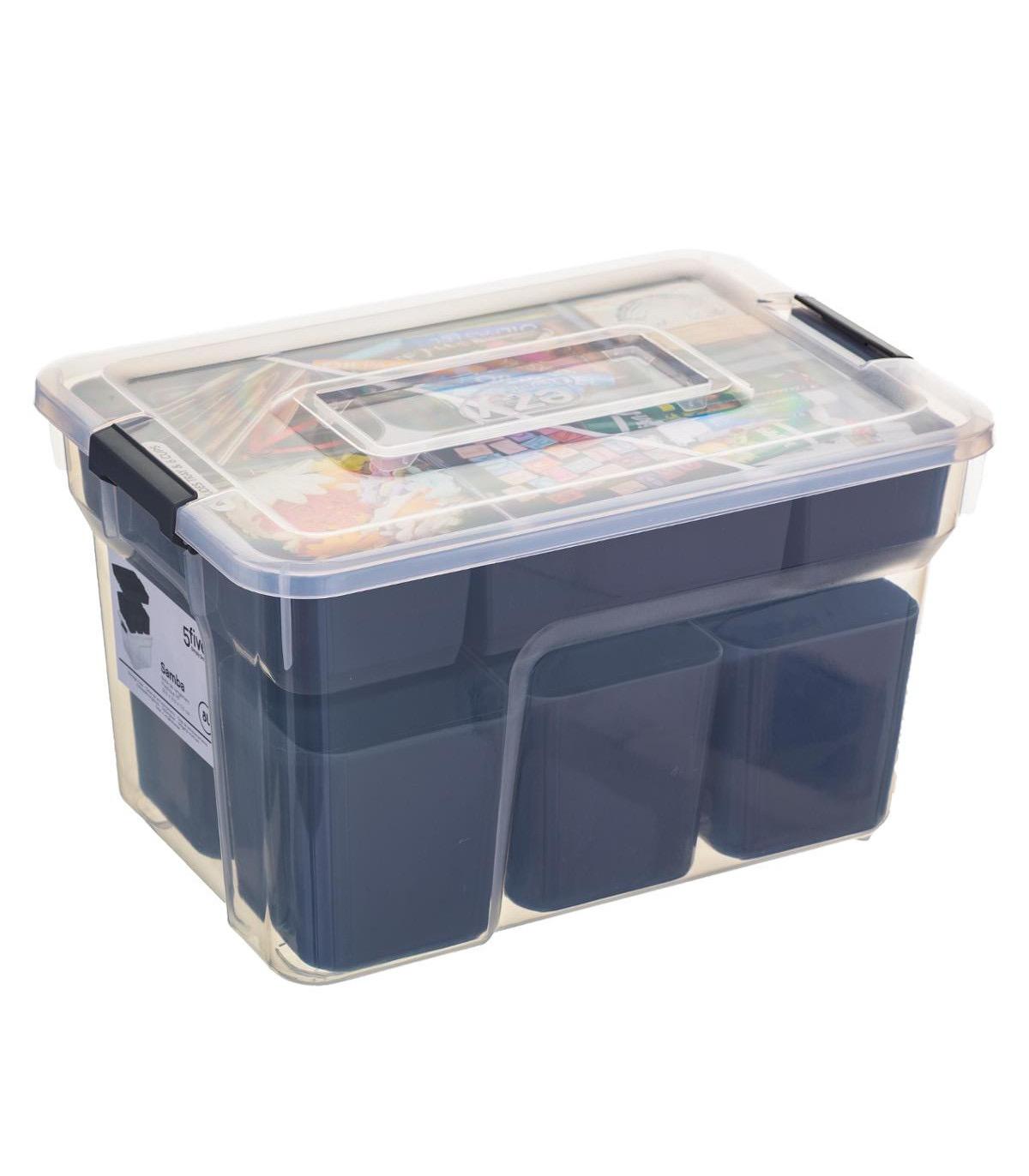 Boîte de rangement compartimentée SAMBA 8L