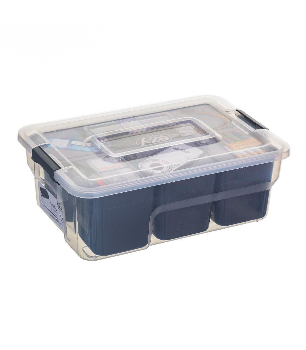 Boîte de rangement compartimentée SAMBA 5L