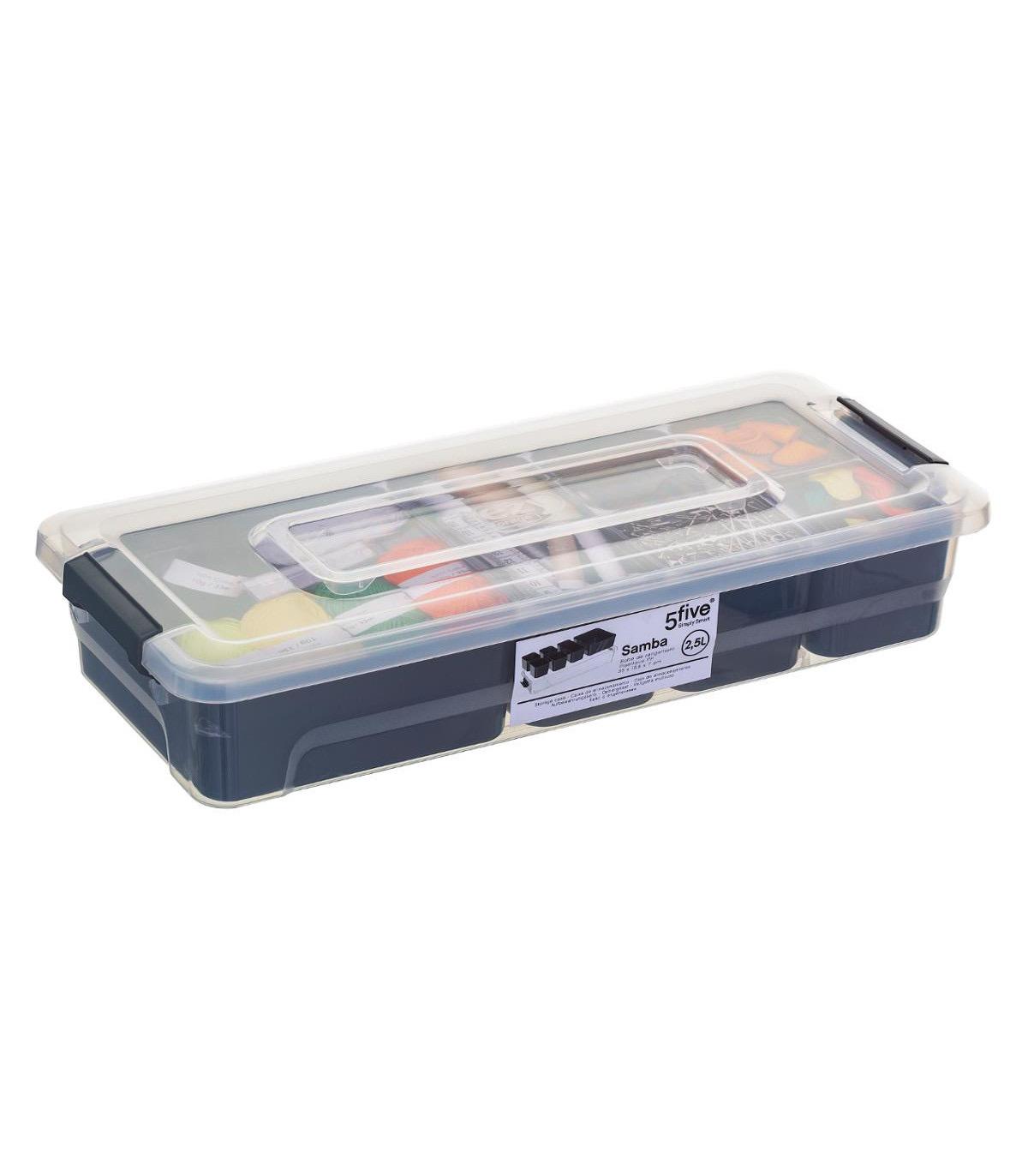Boîte de rangement compartimentée SAMBA 2.5L