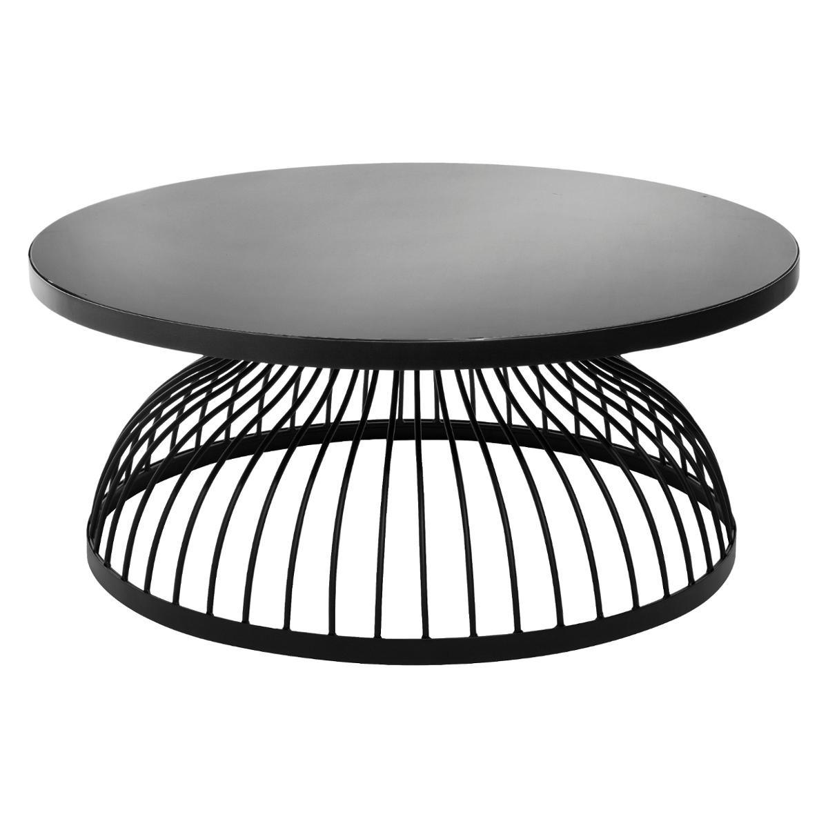 TABLE BASSE EN VERRE KUSHI