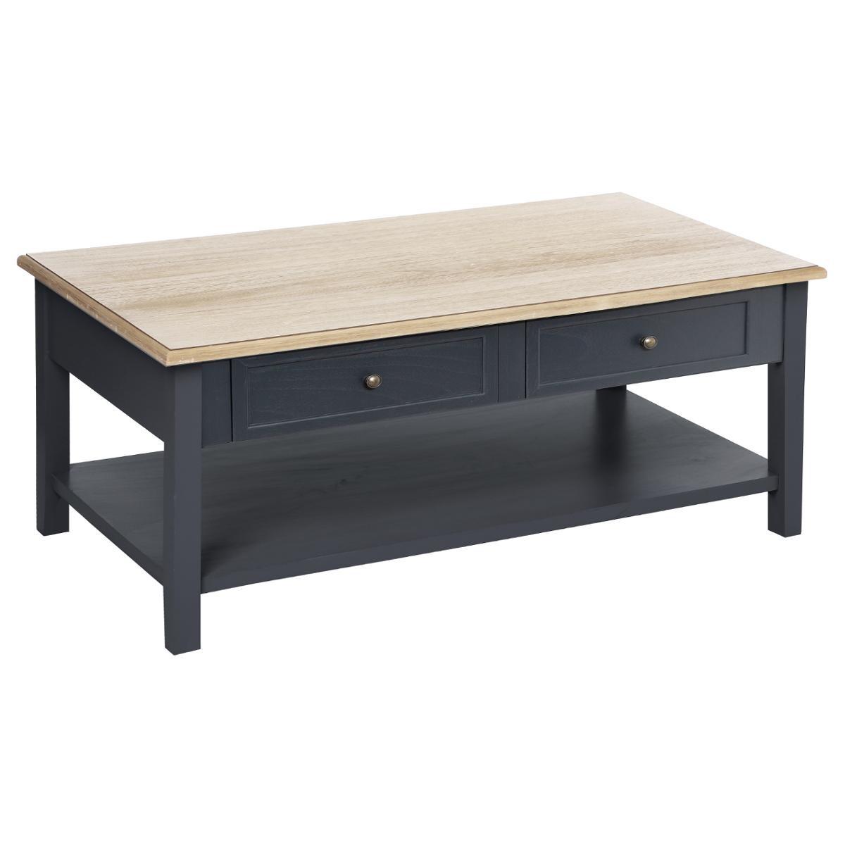 TABLE BASSE 4 TIROIRS DAMIAN