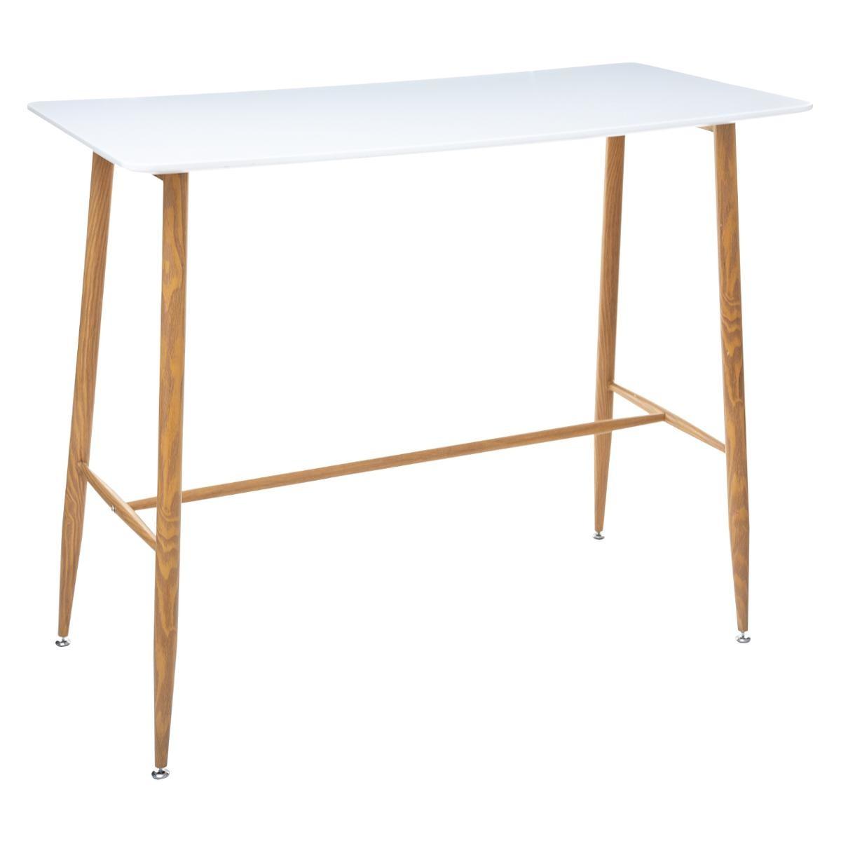 TABLE À DÎNER BAR 120X60CM ROKA