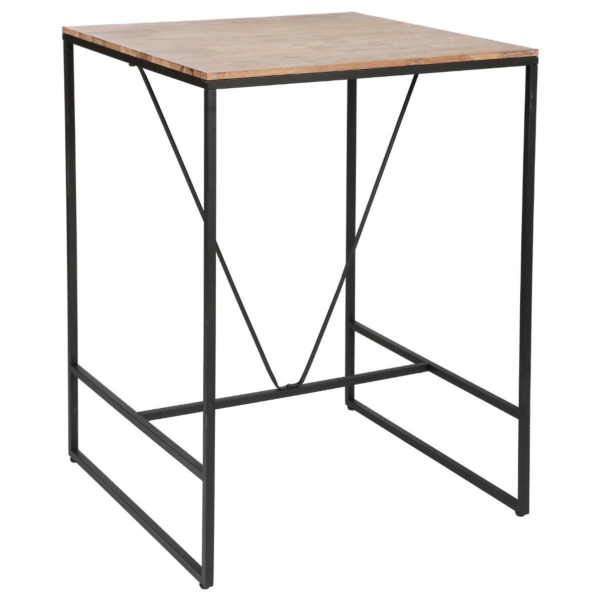 TABLE À DÎNER BAR 80X80CM EDENA