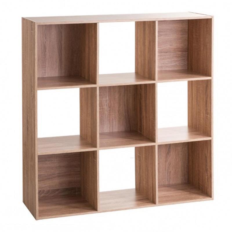 Étagère en bois 9 cases MIX\'n MODUL NATUREL